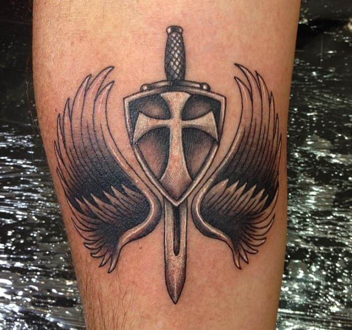 150 cool christian tattoos for men women 2018 page 5 of 5 tattoosboygirl. Black Bedroom Furniture Sets. Home Design Ideas