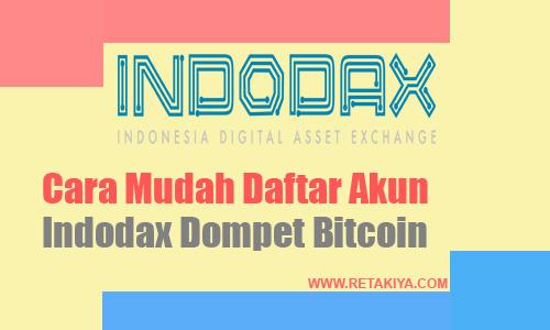 cara daftar akun indodax 2019