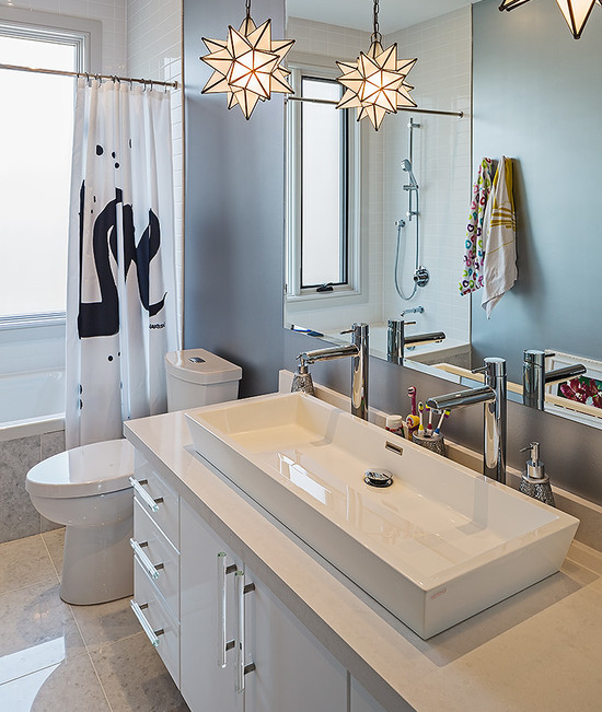 All About Home Design Dress Up Your Bathroom With A New