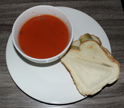 Vegan Grilled Cheese & Tomato Soup