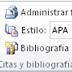 Citas y bibliografía