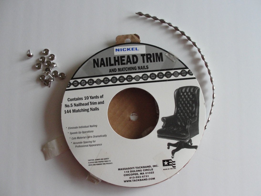 If I Can Do It So Could You Using The Nailhead Trim Kit