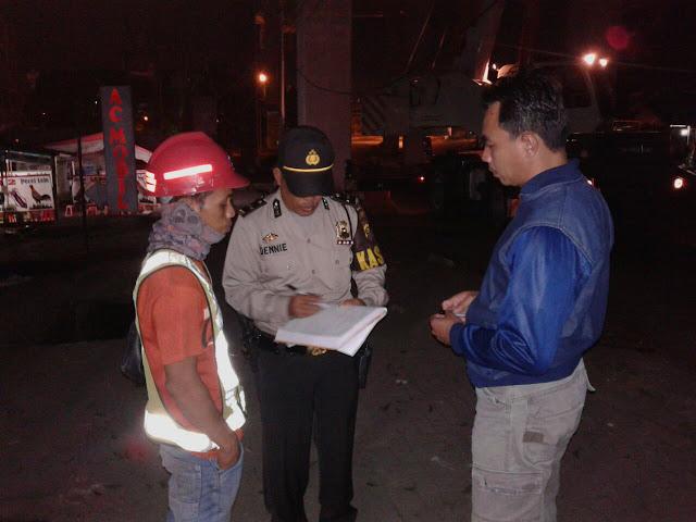 Dua Pegawai LRT Tewas Terjatuh Dari Tiang Penyangga LRT