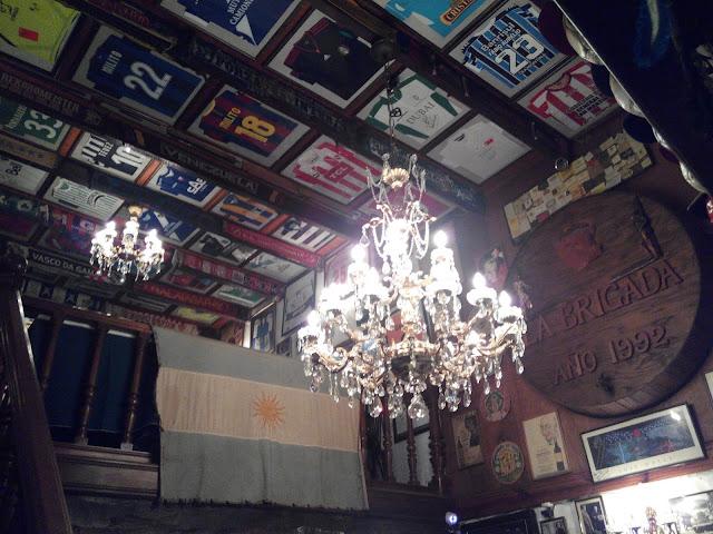 Restaurante La Brigada, San Telmo, Buenos Aires