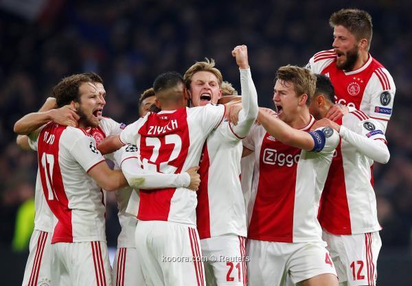 نتيجة مباراة أياكس وليل اليوم الثلاثاء 17-09-2019 دوري أبطال أوروبا