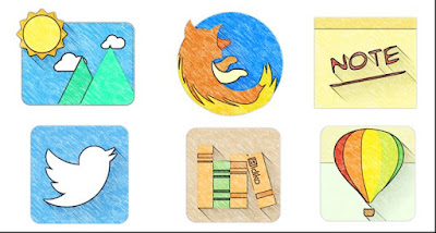Download Gratis Icon Pack Sketchy v1.28 APK