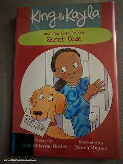 King & Kayla and the Case of the Secret Code book