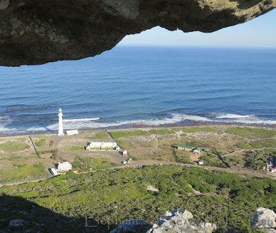 From Slangkop to its lighthouse