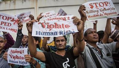 Solidaritas Rohingya, Muslim AS Geruduk Gedung Putih