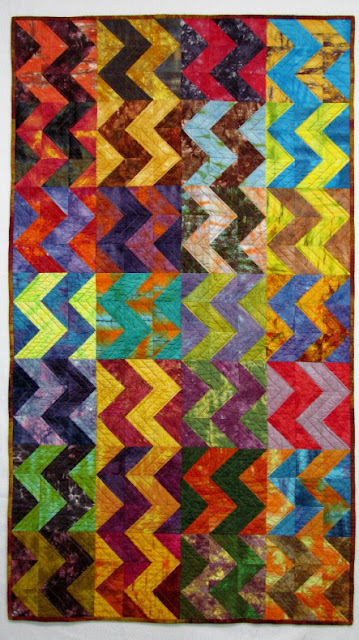 Exuberant Color Hand Dyed Fabric Quilts