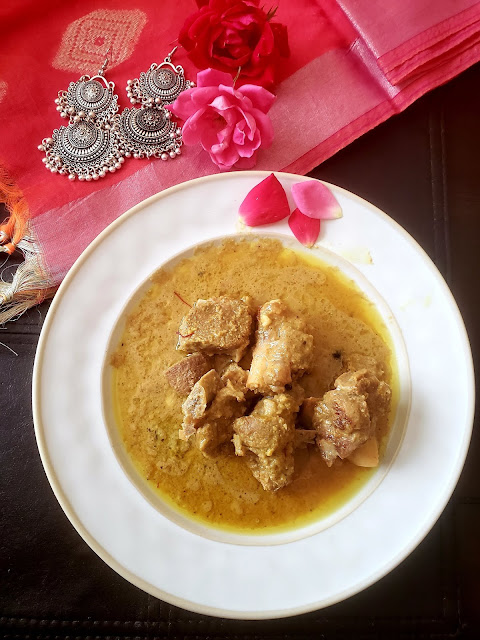 Mutton rezala, rezala recipe