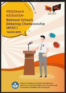 Juknis - Pedoman Lomba Debat Bahasa Inggris NSDC SMA Tahun 2019, tomatalikuang.com