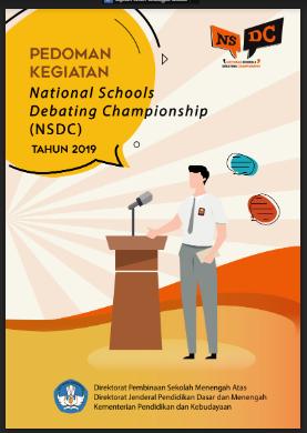 Juknis - Pedoman Lomba Debat Bahasa Inggris NSDC SMA Tahun 2019
