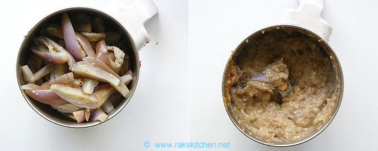 how to make chidambaram brinjal gothsu 4