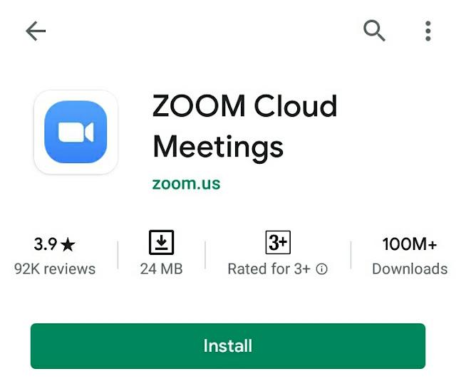 zoom videocalling app