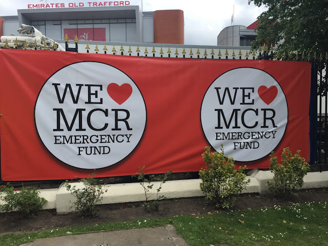 One Love Manchester banner