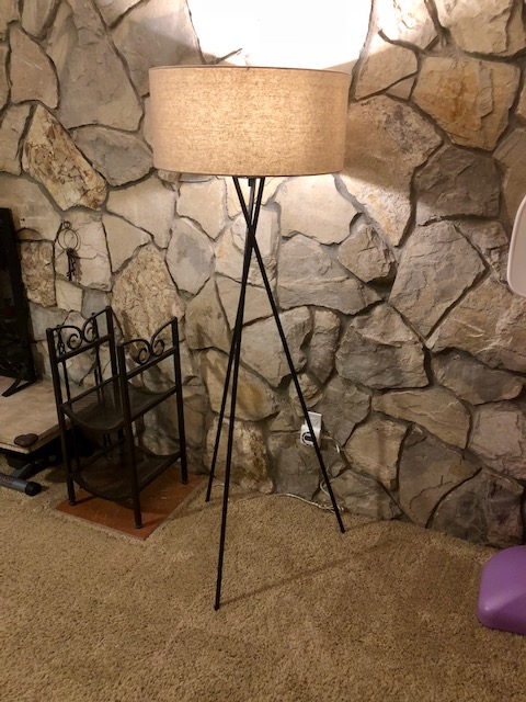 West Elm Mid-century Tripod Floor Lamp