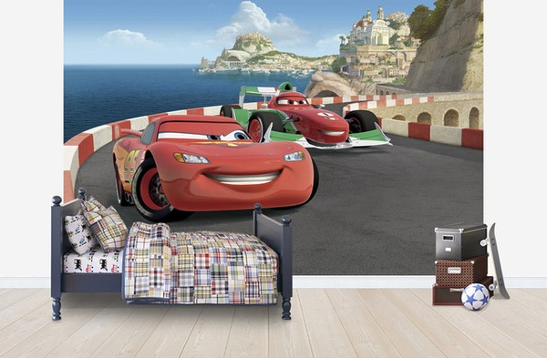 3D tapetti vauvan Disney Cars taustakuva 3d