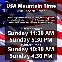 USA Mountain Time
