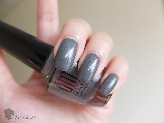 UNT指甲油-指甲彩-KA050-1光年的距離-試色