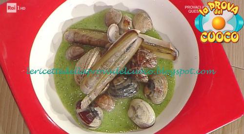 Insalatina di conchigle su crema di cetrioli con crostone for Cucinare cetrioli