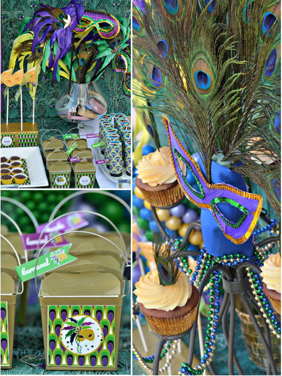 Mardi gras party brazilian style carnaval party ideas - Ideas para carnaval ...