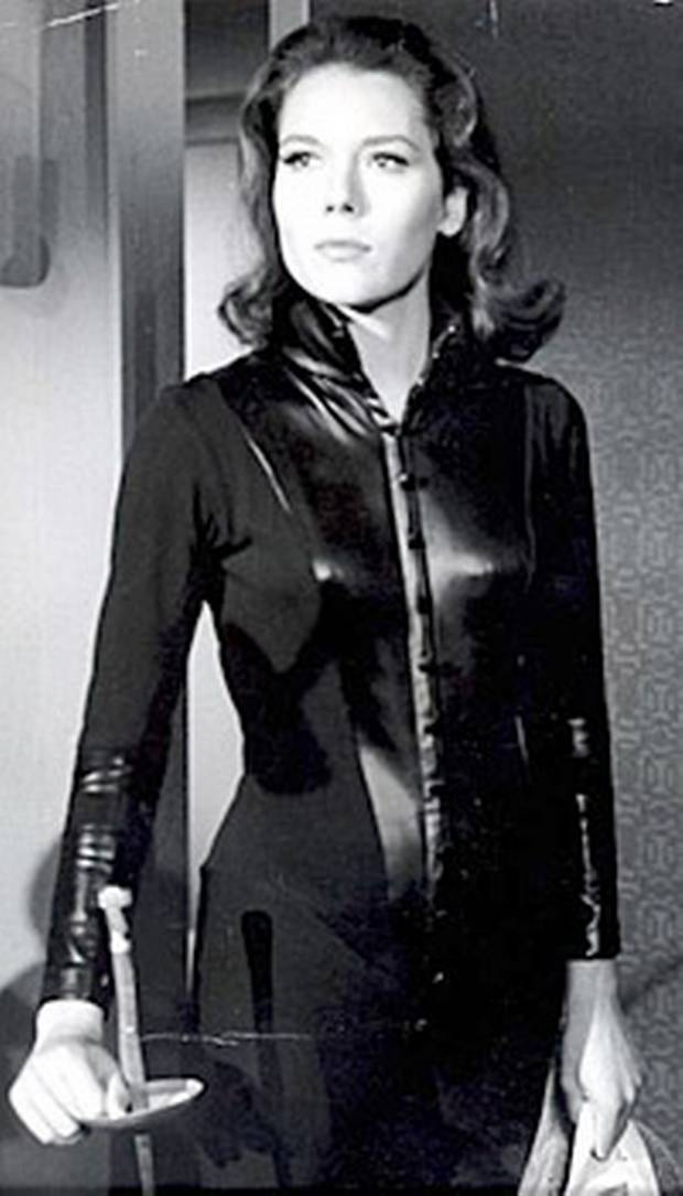 Very Diana rigg as emma peel nude quite good