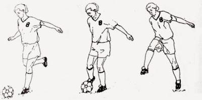 Teknik Menendang Bola Dalam Permainan Sepak Bola