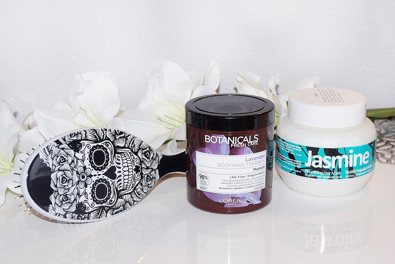 nowości the wet brush loreal maska do włosów botanicals lavender kallos jasmine