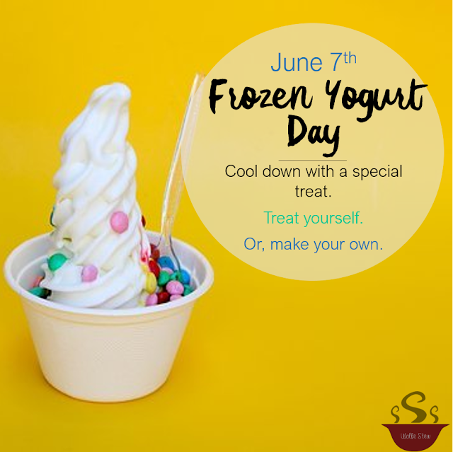 June 7, 2020 - indulge in a creamy, cold, delectable treat.