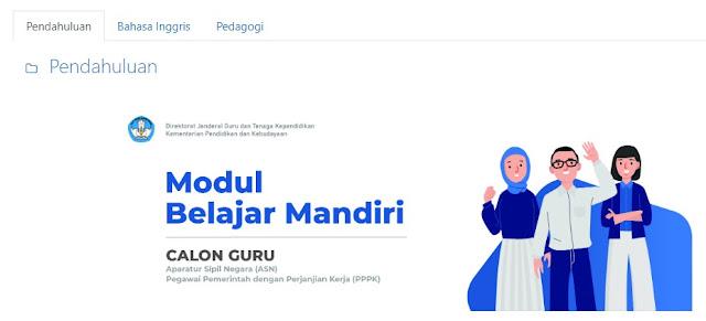 Modul Belajar Mandiri Bahasa Inggris PPPK 2021