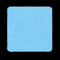 正方形(四角形)のイラスト