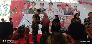 USAI LATGAB TNI, DANDIM SITUBONDO BANTU RATUSAN WARGA