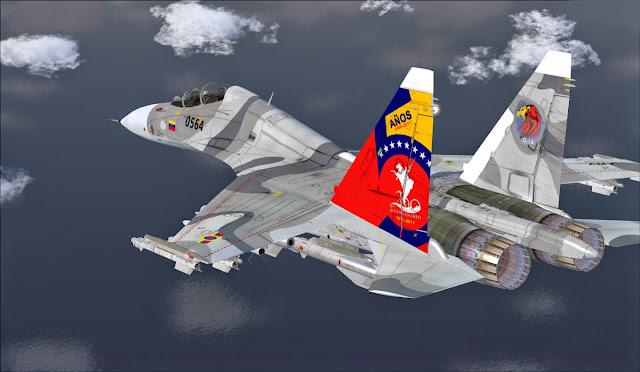 Resultado de imagen para sukhoi 30 venezolanos