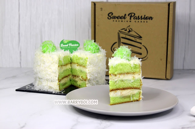 Cakes Order Delivery in Penang Sweet Passion Premium Cakes Blogger Influencer Penang www.barryboi.com