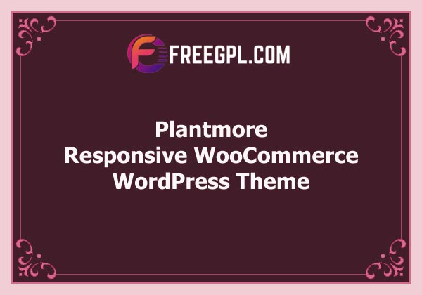 Plantmore – Responsive Theme for WooCommerce WordPress Free Download