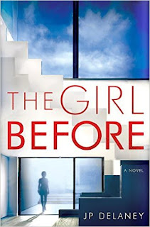 The Girl Before by J. P. Delaney book cover