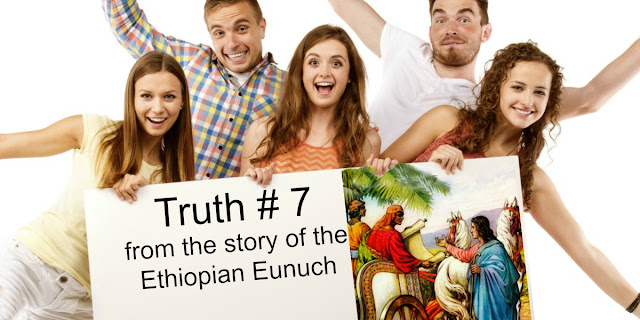 The story of the Ethiopian eunuch in Acts 8 teaches us something very important about having joy in Jesus.