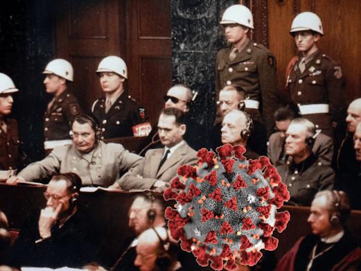 Nuremberg pandemic pharmaceuticals CDC WHO Geneva Convention crimes against humanity Nazi doctors