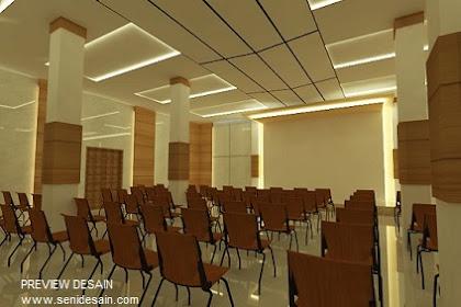 Jasa Design 3d Ball Room Panggung Kursi Audience