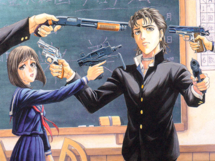 Battle Royale manga - Masayuki Taguchi