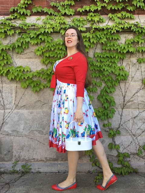 retrospec'd fruit basket dress