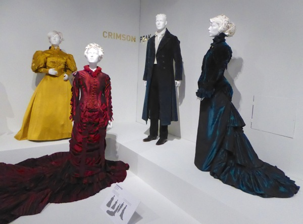 Crimson Peak movie costumes