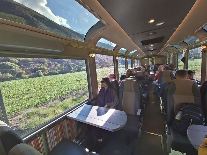 Trem de Cusco a Machu Picchu