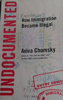 Book cover to Undocumented by Aviva Chomsky