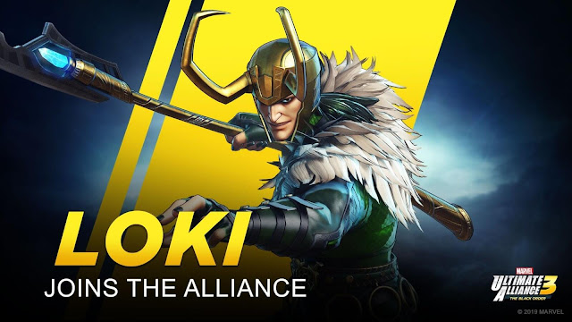 marvel ultimate alliance 3 loki playable character confirmed team ninja nintendo switch