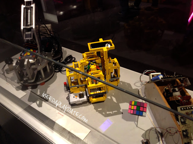 Robots that solve Rubik Cubes at Great Lakes Science Center this Summer #thisiscle | @mryjhnsn