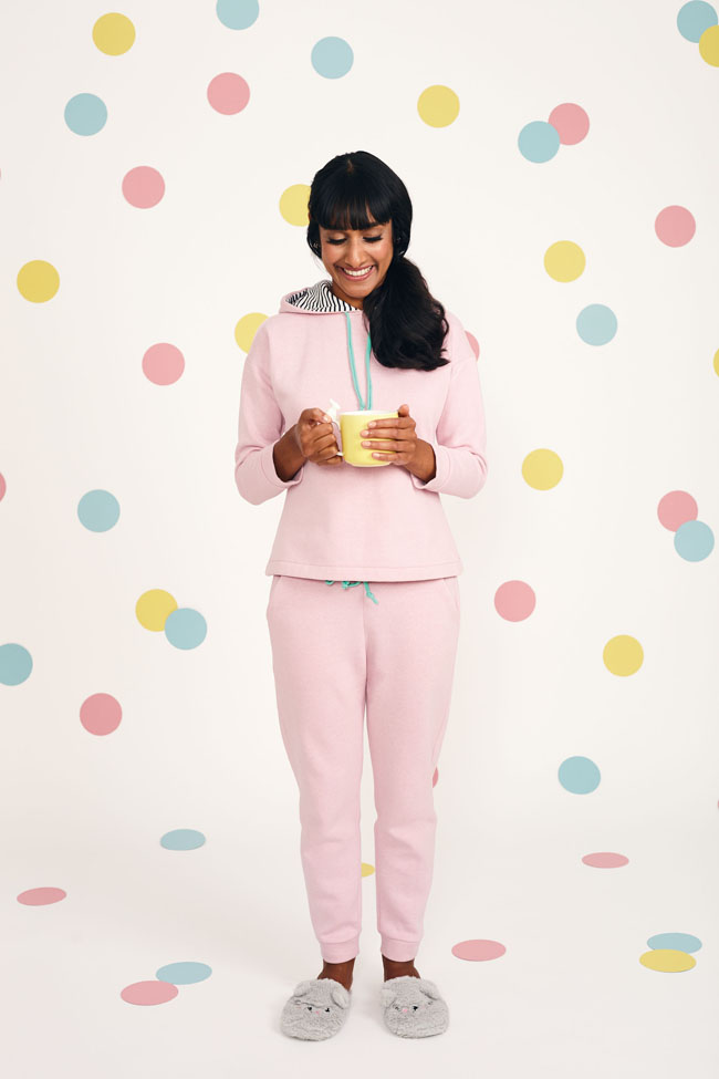 Stella hoody and jogger sewing pattern from Stretch! by Tilly Walnes