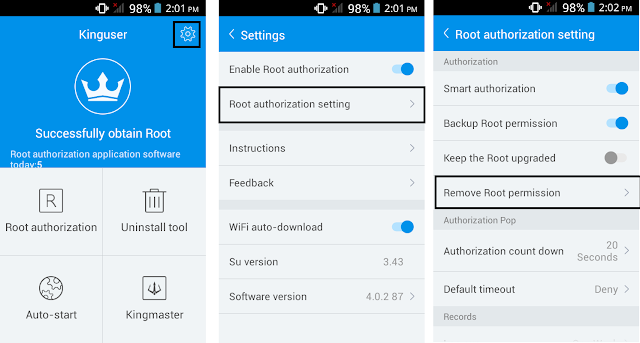 How To UnRoot Huawei Ascend G7 Without PC