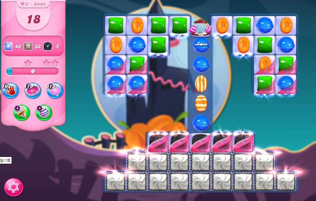 Candy Crush Saga level 6445